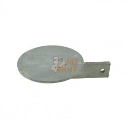 6007005Z; KRAMP; Palette de diffuseur rond; pièce detachée