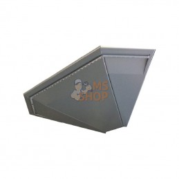 57402267X; L&H; Barre LED angle ext. blanc/alu; pièce detachée