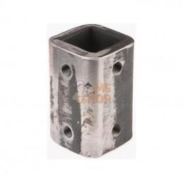 CP0565; KRAMP; Gogue 51,5x51,5x130 14mm; pièce detachée