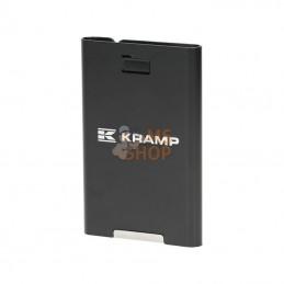 KRA00900019020; KRAMP; Étui à carte rigide, noir; pièce detachée