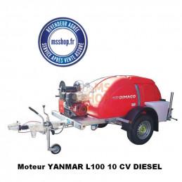 Remorque de lavage haute pression REM TID 15 200 YDE  diesel | DIMACO