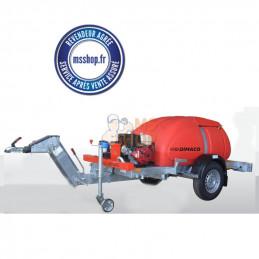 Remorque de lavage haute pression REM TIE 18 240 HEL  | DIMACO