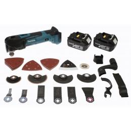 Découpeur-ponceur multifonctions 18 V Li-ion 3 Ah ( kit d'accessoires) | MAKITA Découpeur-ponceur multifonctions 18 V Li-ion 3 A