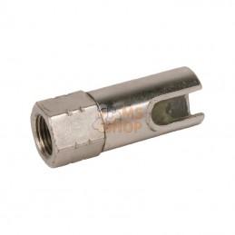 43551GROZ; GROZ; Acc. pompe graisse 90°-M10x1; pièce detachée