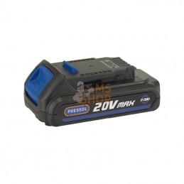 FP18051100; PRESSOL; Batterie au Li-Ion 20V 2Ah pour pistolet à graisse; pièce detachée