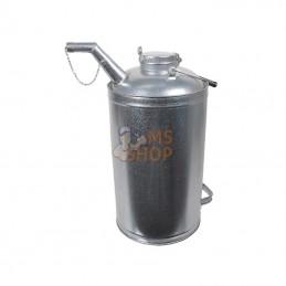 JK08054; PRESSOL; Bidon de réserve 15 litres zingué; pièce detachée