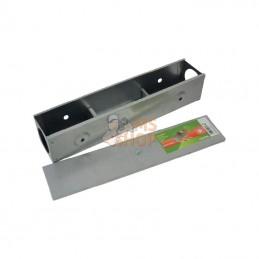 VV299633; KERBL; Boîte à appâts métallique type couloir; pièce detachée