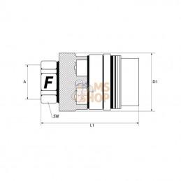 Courroie kit entretien castel garden 122cm lames + courroie crantee + support de lames