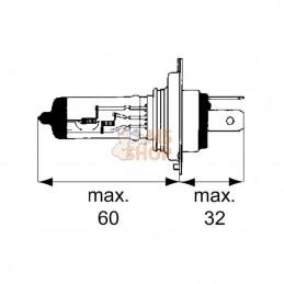 Accessoire tailleuse ISEKI IMTHT55 pour IMAT21S