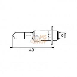 CYLINDRE/PISTON CPL DOLMAR PS460 - MAKITA DCS460