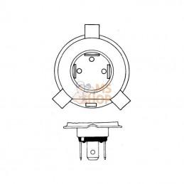 Courroie trapézoïdale MTD 7540626 MOTEUR/VARIATEUR