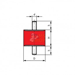 LSP6000010 RACCORD DE TUYAU LSP6001010/02
