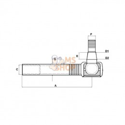 Taille-haie MAKITA DUH752Z 18V Li-Ion 75cm (Machine Nue)