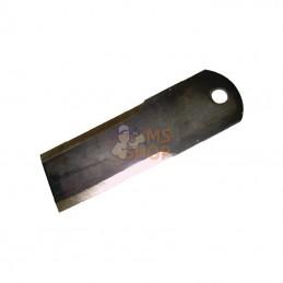 """280920N; KRAMP; """"Contre couteau d12 50x160mm Lisse 2 faces ép3 p/BISO""""; pièce detachée"""