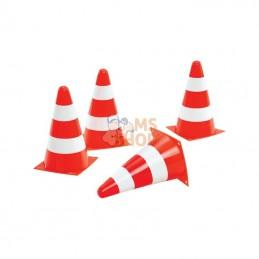 R40949; ROLLY TOYS; 4 cônes de signalisation; pièce detachée