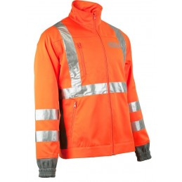 VESTE ORANGE HAUTE...