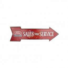 TTF4122; TRACTORFREAK; Ford Sales and Service rouge; pièce detachée
