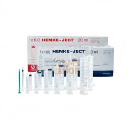 4200000V0; HENKE; HSW NORM-JECT® Seringue jetable 20 ml (24 ml), 100 pcs/boîte; pièce detachée