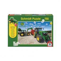 SH56045; SCHMIDT; Puzzle tracteurs série 5M; pièce detachée