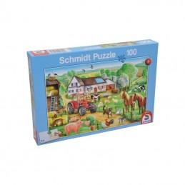 """SH56003; SCHMIDT; Puzzle """"Fröhlicher Bauernhof""""; pièce detachée"""