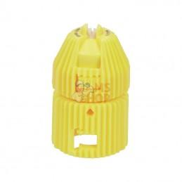 ARX10002; NOZAL; Buse à injection d'air ARX 100° 2 jaune céramique Nozal; pièce detachée