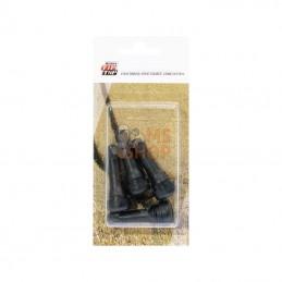 4002001; REMA TIP TOP; 4 valves en caoutchouc TR414; pièce detachée