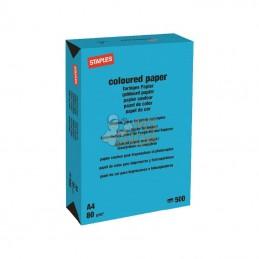 600317ST; STAPLES; Papier A4 bleu azur 500B; pièce detachée