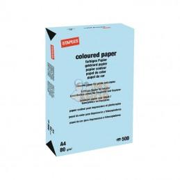 600308ST; STAPLES; Papier A4 bleu clair 500B; pièce detachée
