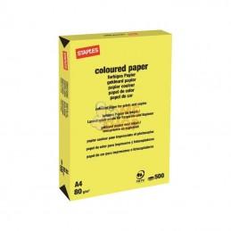 600312ST; STAPLES; Papier A4 jaune 500B; pièce detachée