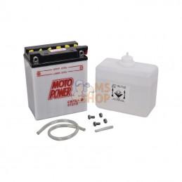 YB12ABKR; KRAMP; Batterie 12V 12Ah 165A avec pack acide Kramp; pièce detachée