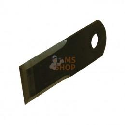 """0007557860KR; KRAMP; """"Couteau d20 50x173mm ép4 Lisse 3faces p/CLAAS""""; pièce detachée"""