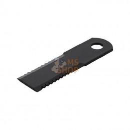 """134810N; KRAMP; """"Couteau d20 50x175mm ép4.5Faucillé 2faces p/REKORD""""; pièce detachée"""