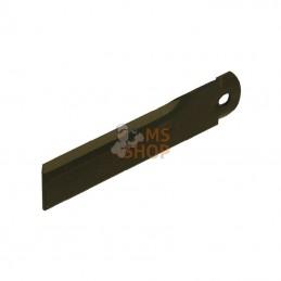 """1322233C2N; KRAMP; """"Contre couteau d10.5 40x175mm ép3 Lisse p/IH""""; pièce detachée"""