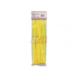 TRBL48300YEL; KRAMP; 50 serre-câbles 4,8x300mm jaune,50pcs; pièce detachée