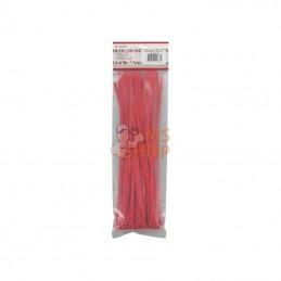 TRBL48300RED; KRAMP; 50 serre-câbles 4,8x300mm rouge,50pcs; pièce detachée