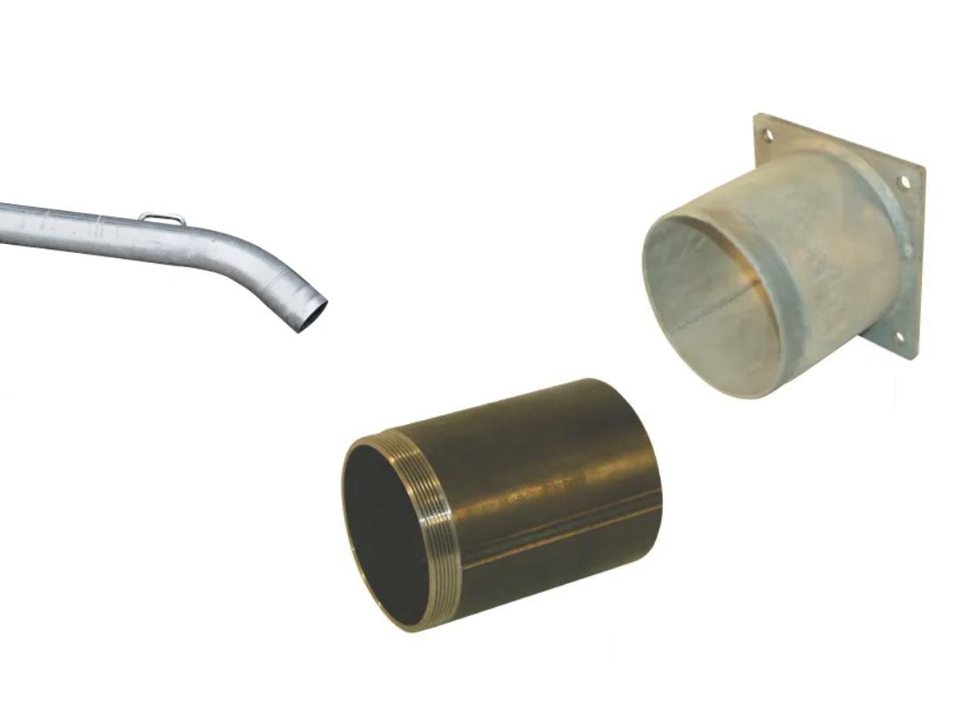 Tubes en acier et accessoires pour fertilisation & lisier - MSSHOP