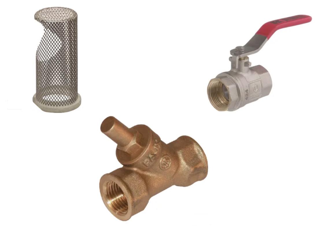 Robinets, vannes et filtres en ligne irrigation/réserve d'eau - MSSHOP