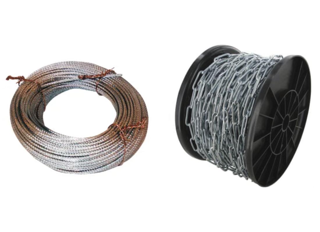 Chaînes longues et câbles de toutes les marques - MSSHOP