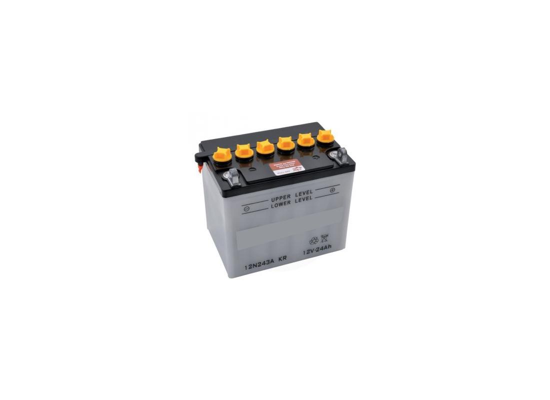 Batterie de démarrage 12 volts pour tracteur  et tondeuse - MSSHOP