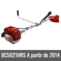 BC 5021HRS A partir de 2014