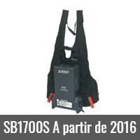SB1700S A partir de 2016