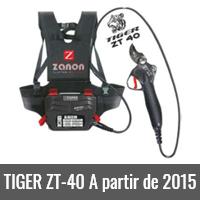 TIGER ZT-40 A partir de 2015