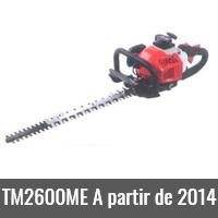 TM2600ME A partir de 2014